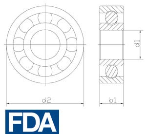fda ball bearing