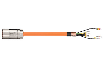 readycable® servo cable acc. to B&R standard i8CMxxxx. 12-5, base cable PUR 10 x d