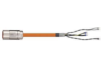readycable® servo cable suitable for Elau E-MO-11 SH-Motor 2.5, base cable PUR 7.5 x d