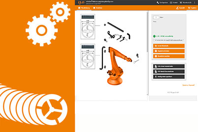 Configurator for robotic equipment
