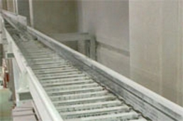 Aluminium trough for crane track